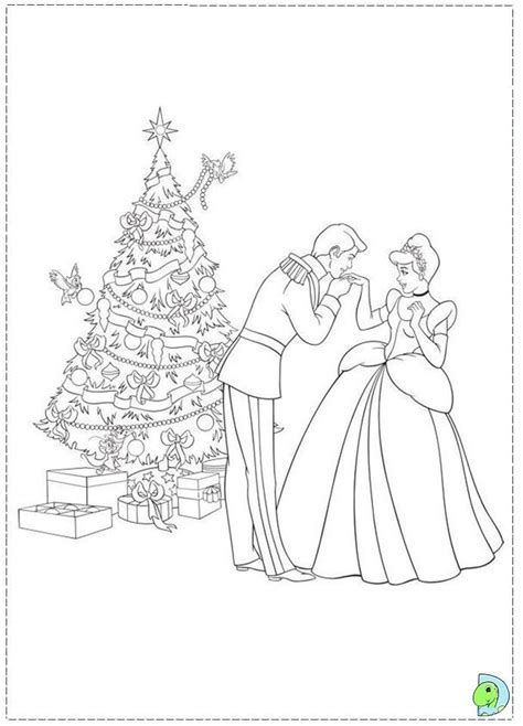christmas princess coloring pages coloring home