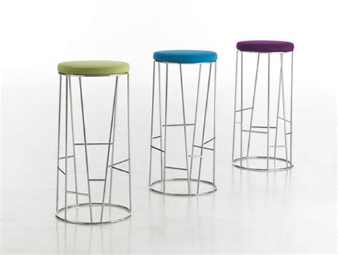 colorful bar stools colorful seat side bar stool iroonie