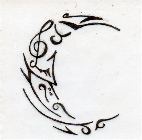 moon tattoo by lil angela on deviantart