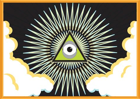all seeing eye in the seeing with the minds eye the greatest news is that you