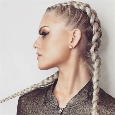 extention braid hairstyles hotloxs hair extensions ash blonde boxer style double