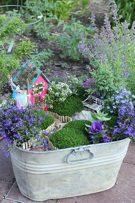 30 Diy Ideas How To Make Fairy Garden Architecture Design Plants Ideas For A Garden