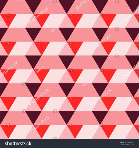 pattern romb vector romb pattern rectangle triangle texture red stock vector