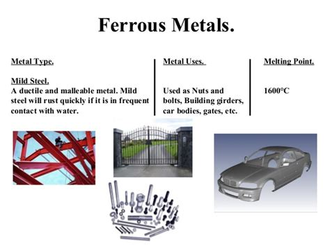 what type of metal is steel metals ferrous and non ferrous