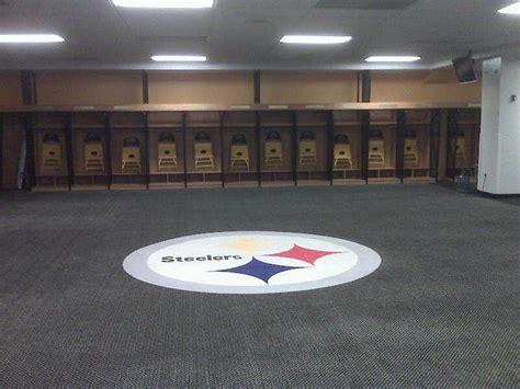 steelers locker room pittsburgh steelers locker room 1 all things black gold lockers and pittsburgh