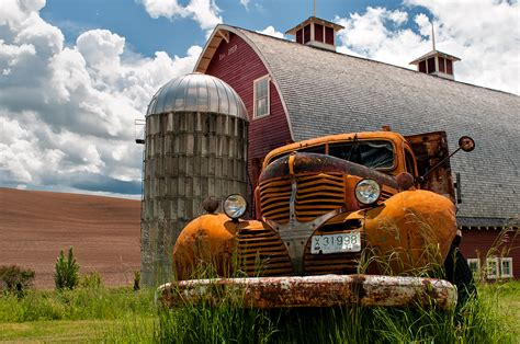 pa farm truck photographing the washington palouse enmanscamera s