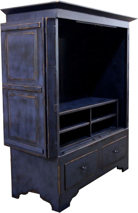 armoire television cabinet green plasma tv armoire furniture pinterest