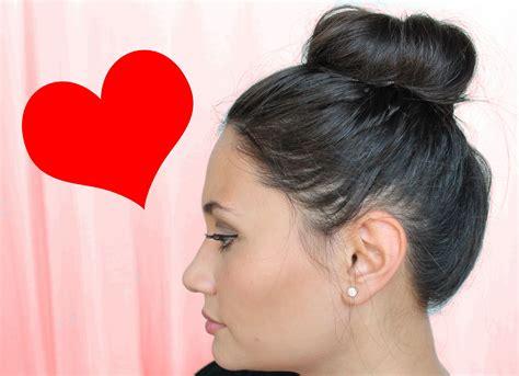 hair in a bun with short hair for black women hair 101 top knot bun for short hair qtiny com
