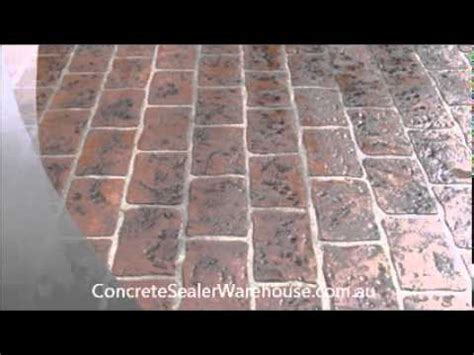 youtube pattern concrete stencil concrete sealer youtube