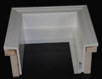 millcraft systems vinyl wood garage door frames