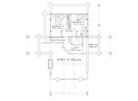 the retreat floor plans upland retreat luxury log home plan