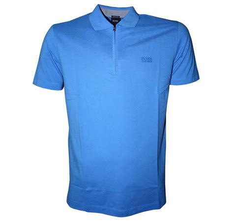 Polo Shirt Polo Logo1 hugo blue verona 1 4 zip polo shirt polo shirts