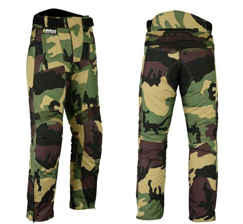 Motorrad Hose Camo by Camo Motorcycle Trousers Armoured Waterproof Textile