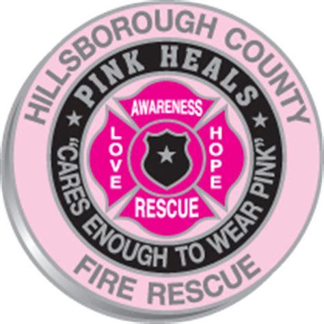 design lab hillsborough county quot pink heals quot hillsborough county fire rescue