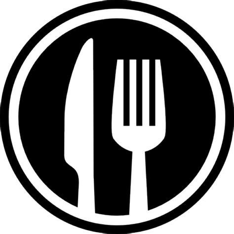Kitchen Design For Restaurant by Gabel Und Messer Besteck Kreis Schnittstelle Symbol F 252 R