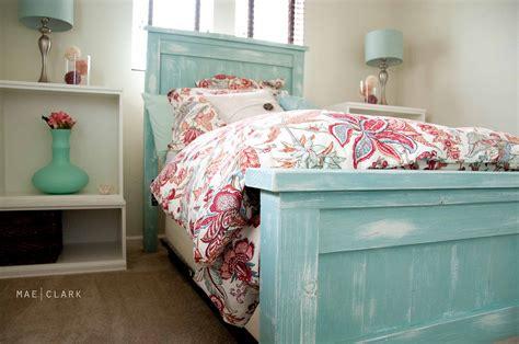 ana white twin bed ana white twin farmhouse bed a beachy ish version