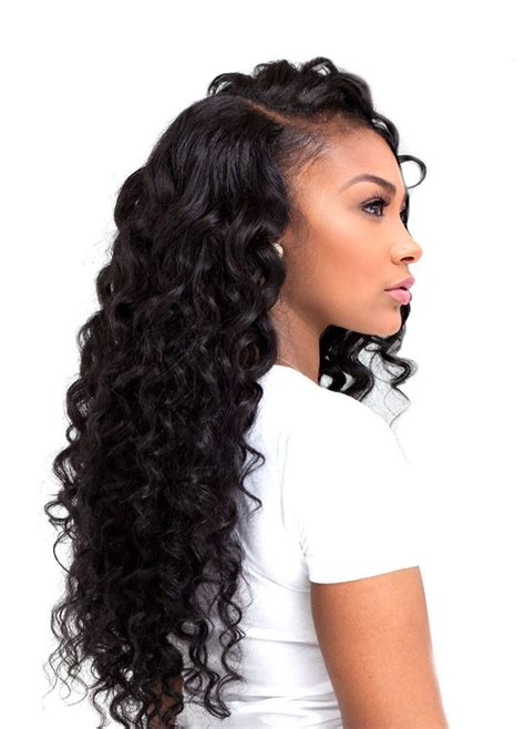 pics of loose wave hair 25 best ideas about deep wave weave on pinterest