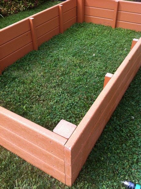 plastic raised garden beds recycled plastic raised garden beds