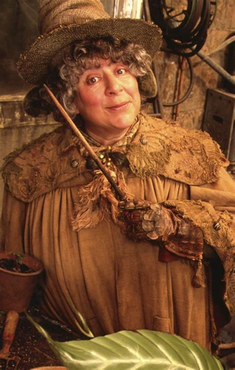 pomona sprout sprouts professor and harry potter