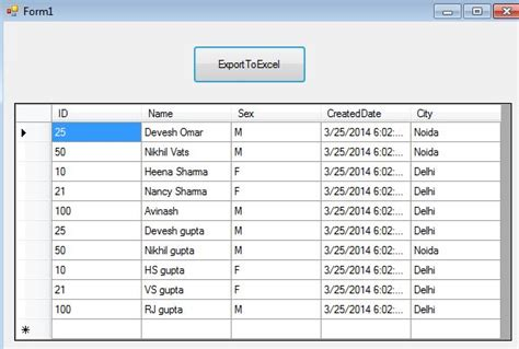 format excel file using c how to read data from excel sheet using c net exporting