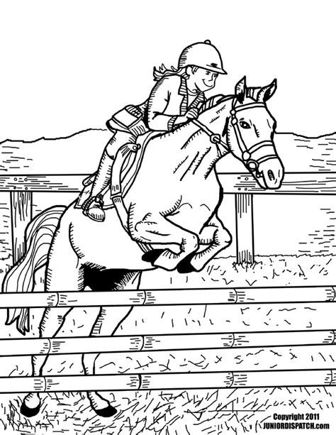 coloring pages horses jumping horse jumping coloring pages az coloring pages