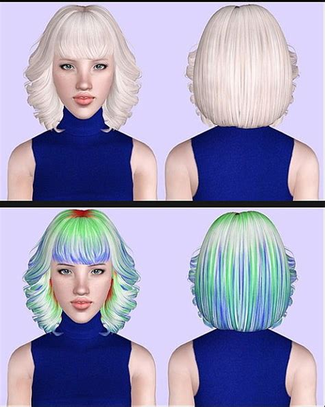 small ponytail hairstyle 228 by skysims sims 3 hairs the sims 3 skysims 213 hairstyle retextured by porcelain