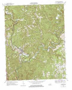 livingston topographic map ky usgs topo 37084c2