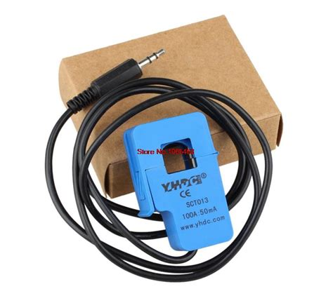 Ac Current Sensor Sct 013 000 100a Non Invasive Split Sensor Arus non invasive split current transformer ac current sensor 100a sct 013 000 in electronics