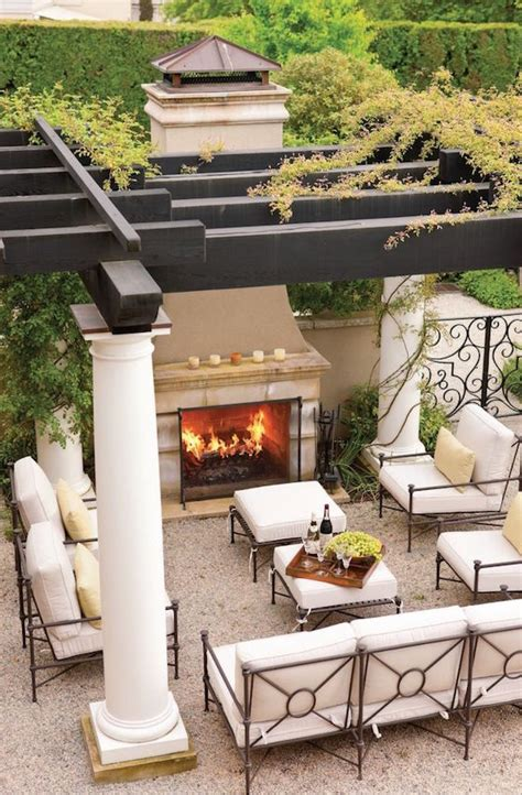 inviting outdoor fireplaces omg lifestyle bog