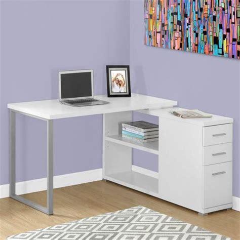 bureau informatique blanc un bureau informatique d angle quel bureau choisir pour