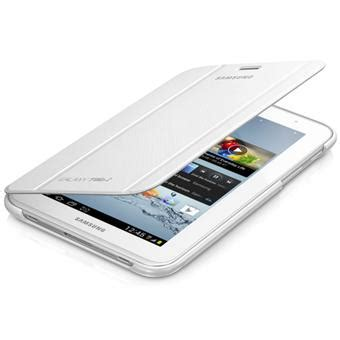 samsung coque rabat support pour galaxy tab 2 7 quot blanche housse tablette achat prix fnac