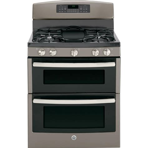 Oven Gas ge appliances jgb850eefes 6 8 cu ft gas range w oven slate sears outlet
