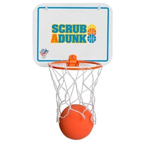 scrub a dunk the bathtub basketball hoop for baby