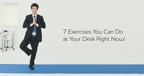 8 Exercise You Can Do At Your Workstation by 7 Exercises You Can Do At Your Desk Right Now Bayt