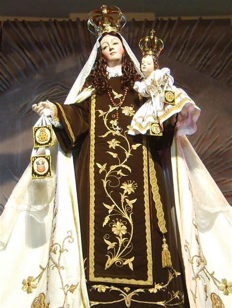 imagenes de la virgen maria wikipedia escapulario del carmen wikipedia la enciclopedia libre