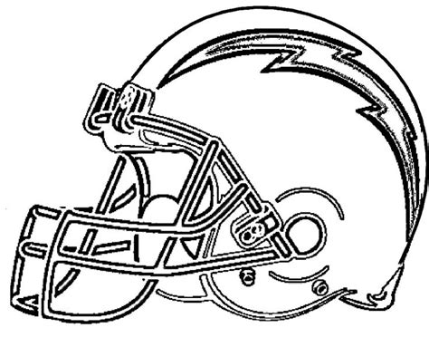 nfl chargers coloring pages free coloring pages of san diego chargers logo