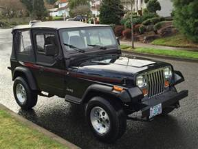 For Jeeps Only 1993 Jeep Wrangler 4x4 2dr Convertible 2 5 L 4 Cyl Only