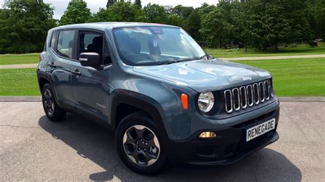 2017 gray jeep renegade used jeep cars for sale motorparks