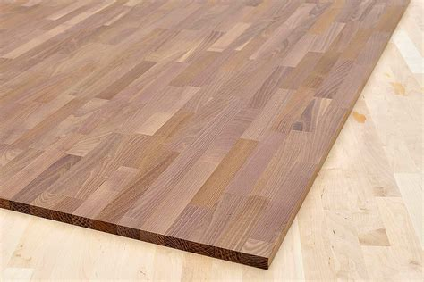 Arbeitsplatte / Küchenarbeitsplatte Massivholz Akazie