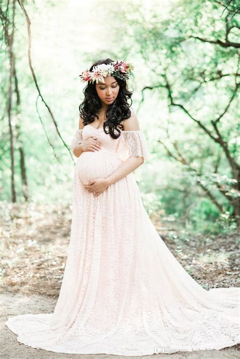 Dress Denimmaxi Dressdress Import Fashion Realpic discount maxi maternity dress for photo shoot maternity photography props pregnancy clothes for