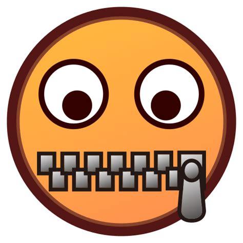 emoji zipped mouth list of phantom smileys people emojis for use as
