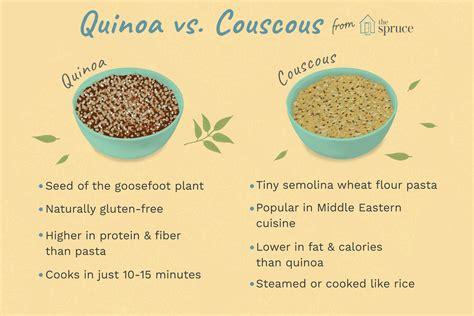 couscous vs quinoa nutritional value of quinoa vs couscous nutrition ftempo