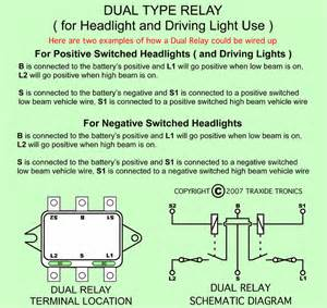 wiring diagram is last negative switched lights httpwwwtraxidecom