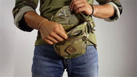 Emerson Multired emerson gear multi function recon waist bag multicam