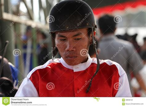Cacing Sukoharjo jockeys editorial photography image 58658122