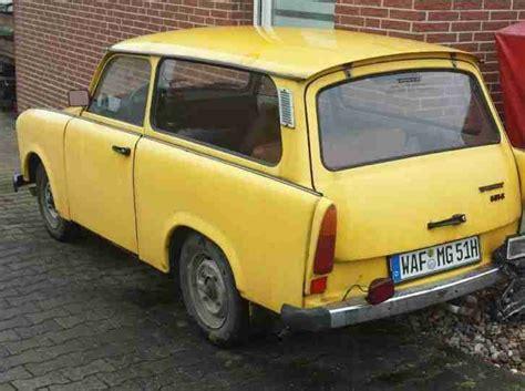 Auto Kaufen Zulassung by Trabant Kombi 12 1977 Mit H Zulassung Angebote