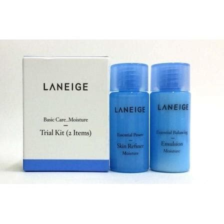 Laneige Basic Care Light Trial Kit bộ kit laneige basic care light