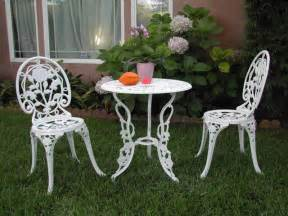 Outdoor Patio Table Sets Cast Aluminum Outdoor Patio Furniture 3 Bistro Set E Ebay