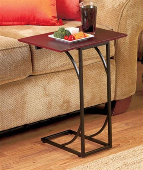 sofa eating table side sofa table accent table end eating food tray sick