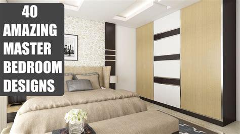 modern main bedroom designs trends  master ideas